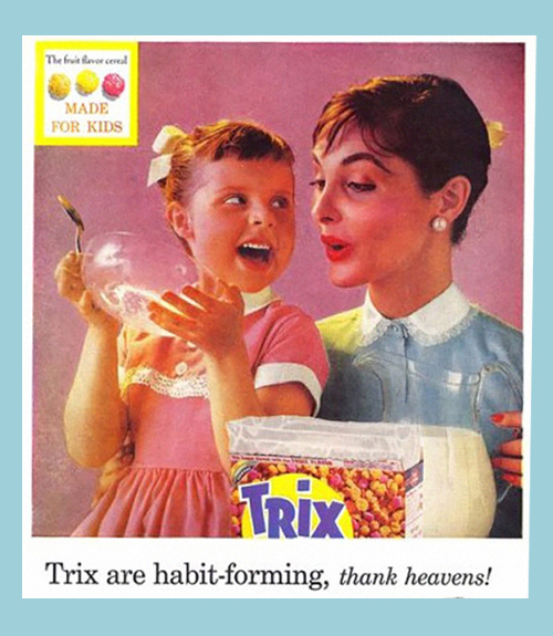 Trix Ad from 1950's