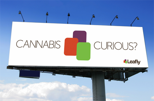 cannabis curious billboard