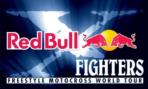 Red Bull motocross promotion